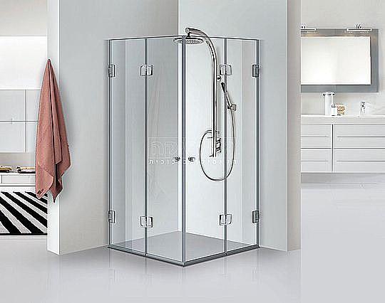 צעיר ביג דיל מקלחון פינתי גלאסיקה דגם צדף 605 אקורדיון | מקלחונים | NN-03